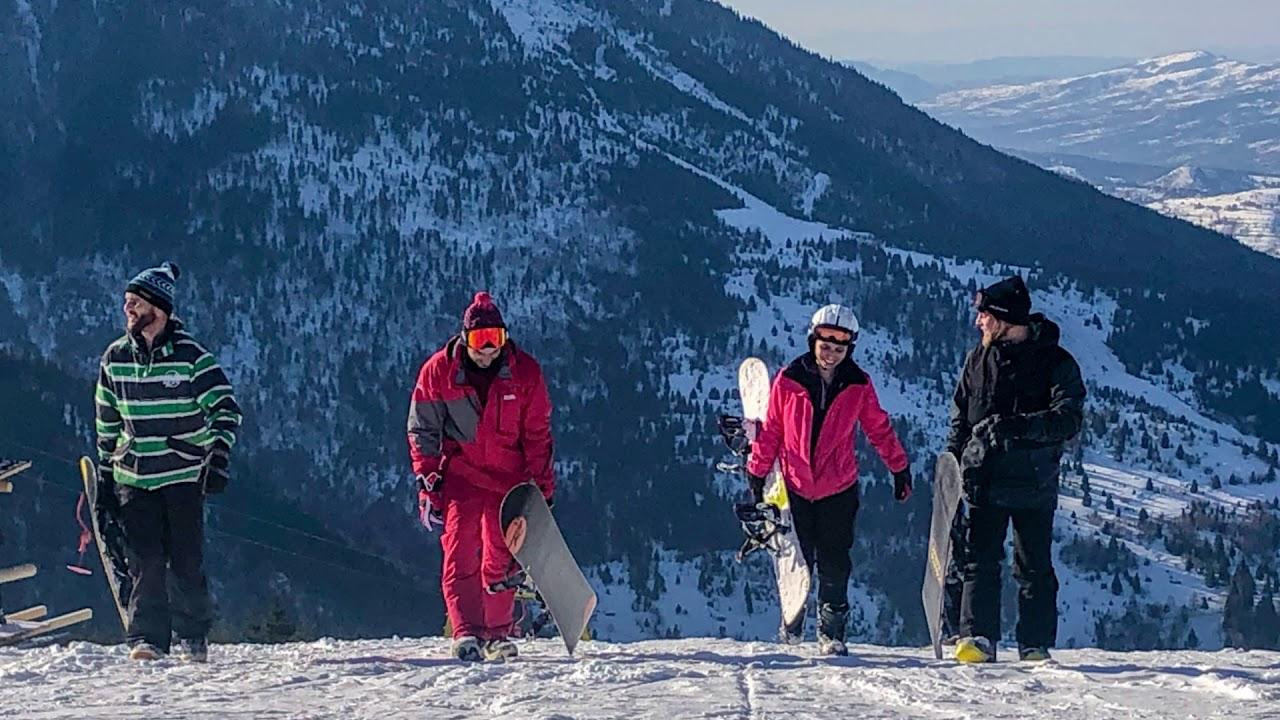 Snowboarding 2020 Borsa, Maramures