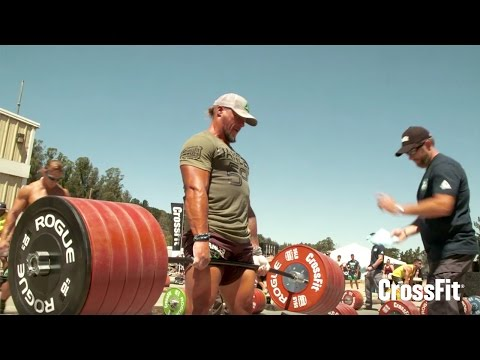 The CrossFit Games - Men's Ranch Deadlift Ladder