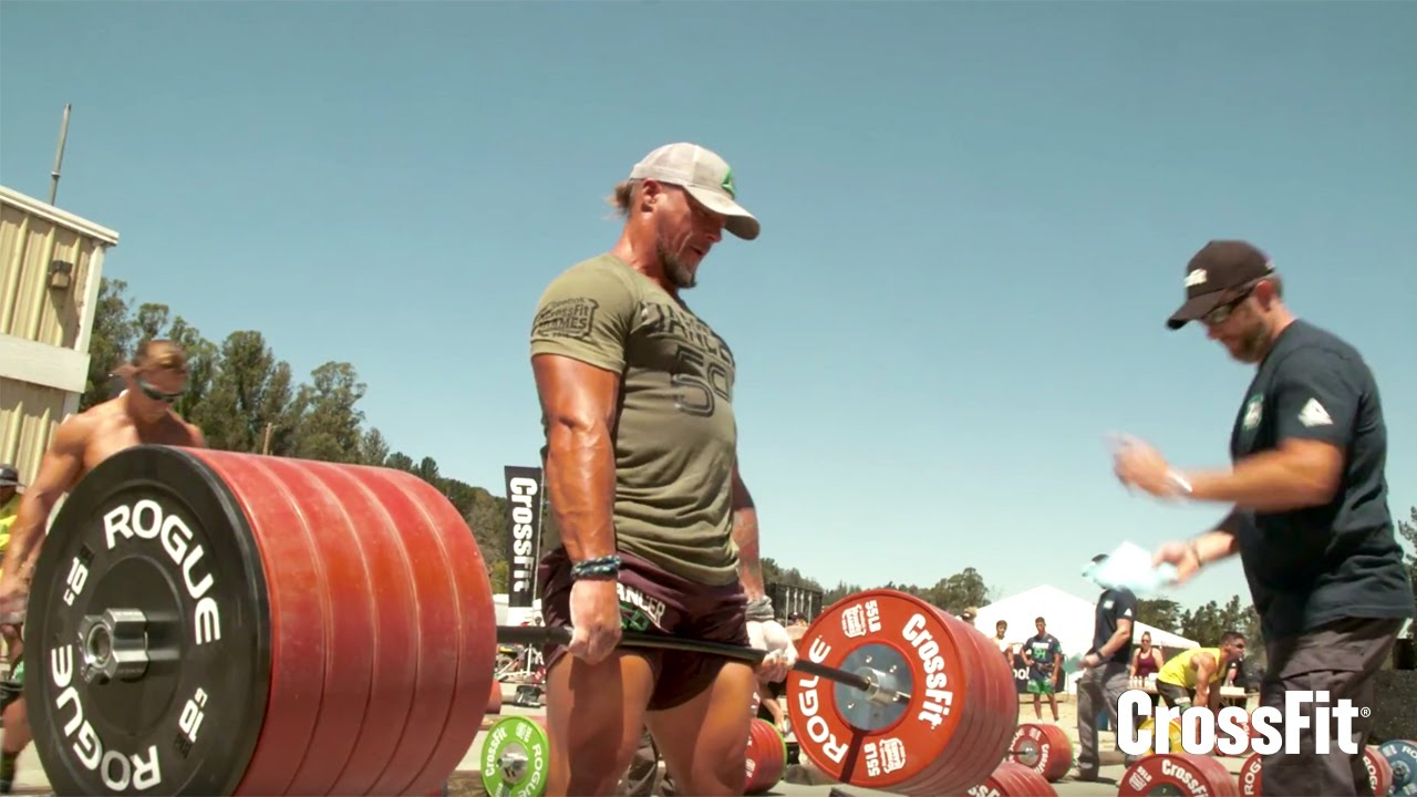The crossfit games mens ranch deadlift ladder youtube falaconquin
