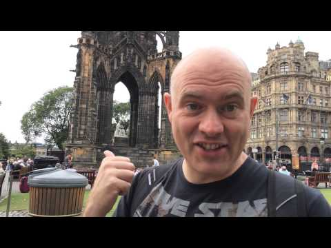 Scott On Tour In Edinburgh