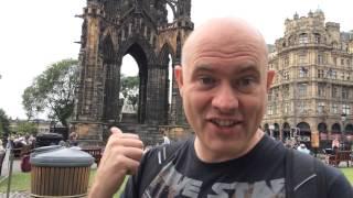 Scott On Tour In Edinburgh