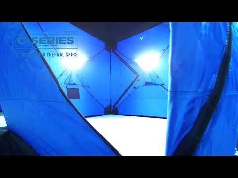 Benefits Of The Clam C-Series Of Portable Hub Shelters
