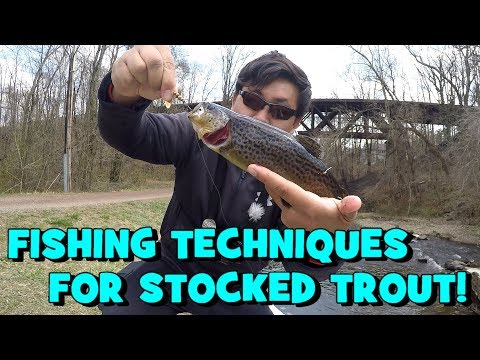A UNIVERSAL TIP That Will HELP YOU Land Stocked Trout! (Philadelphia, PA)