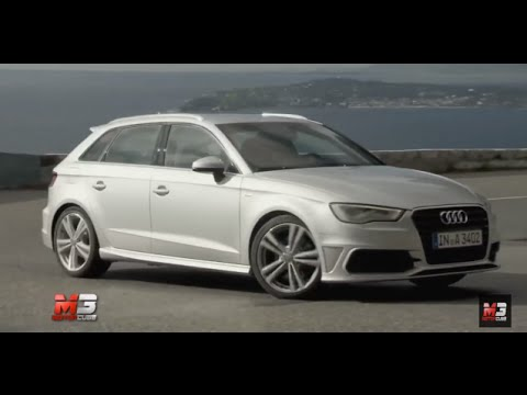 audi a3 sportback 2013 test drive youtube. Black Bedroom Furniture Sets. Home Design Ideas