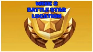 Secret 'Battle Star' Saison 5 Semaine 2 Emplacement 'Road Trip' Challenge Fortnite Battle Royale