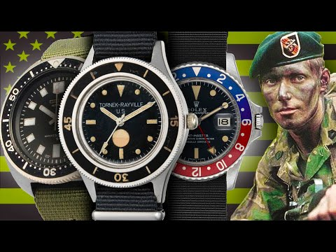 Watches Of The American Armed Forces - Vietnam (MACV-SOG, Navy SEALs, Marines, Army, Air Force)