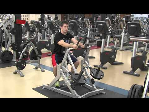 Hammer Strength Seated Low Row Tutorial