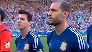 Anthem of Argentina vs Germany (FIFA World Cup 2014)