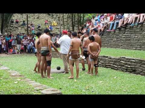 Ceremony preceding Mayan Ball Game