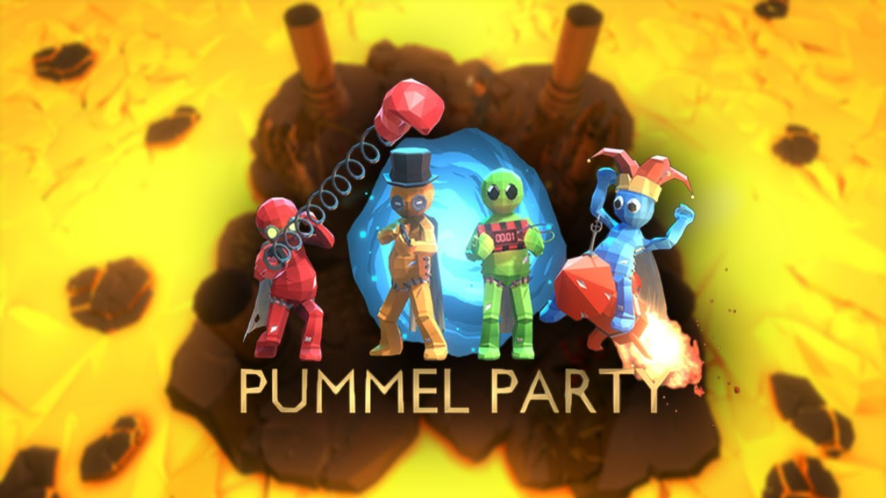 Pummel Party Trailer Party Game Co Op Indie Youtube