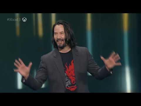 Киану Ривз - Презентация Cyberpunk 2077 [Русская озвучка]
