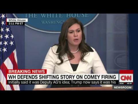 Sarah Huckabee Sanders Takes ABC News