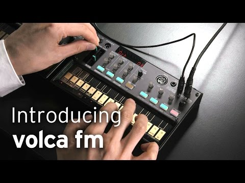 Introducing KORG volca fm [with CC]