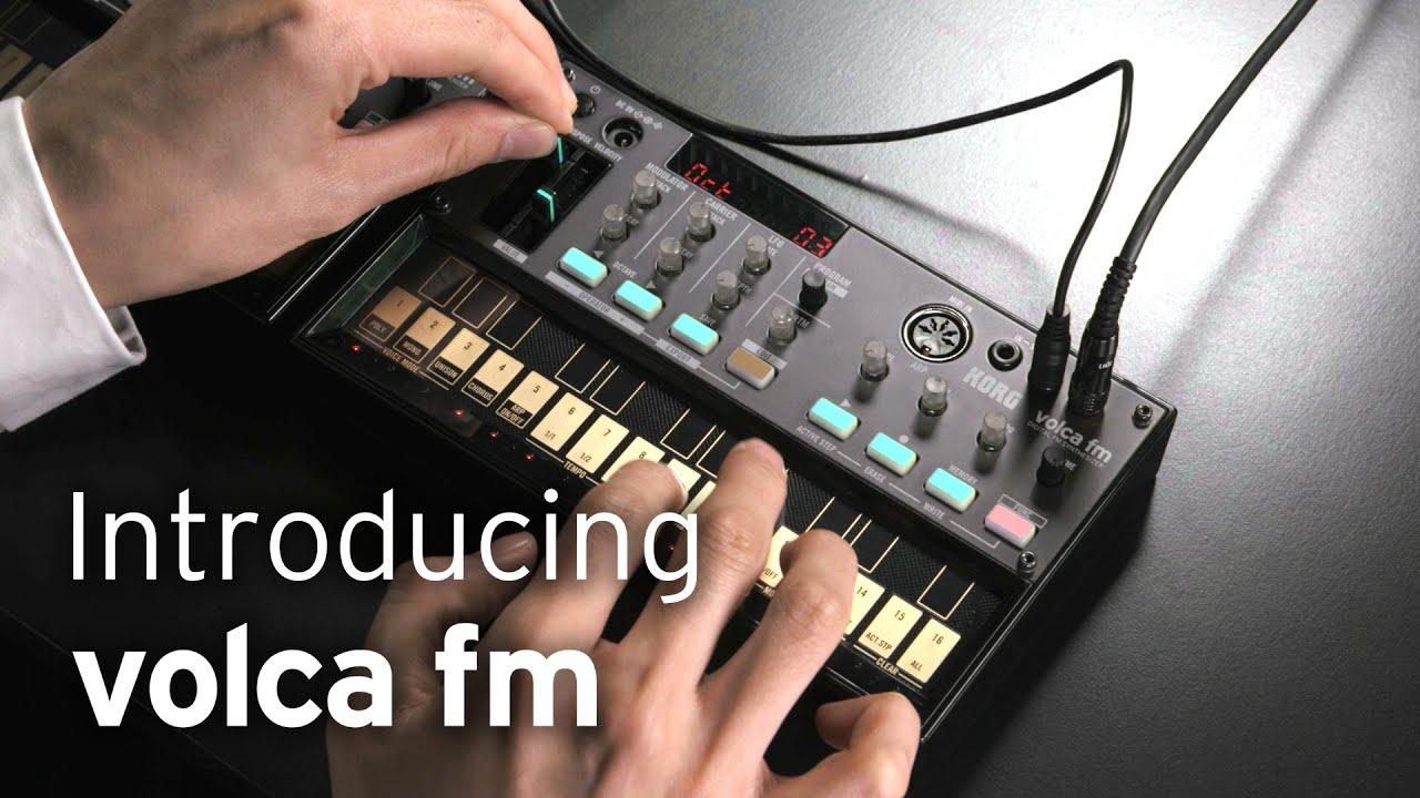 volca fm Digital FM Synthesizer