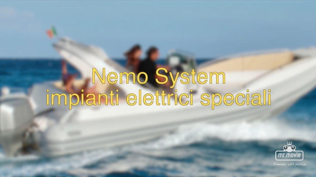 Schema Elettrico Per Gommone : Nemo system impianti elettrici speciali per imbarcazioni da