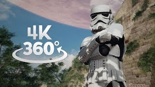 Star Wars Battlefront II Yavin 4 360° Video in 4K! thumbnail