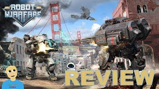 Robot Warfare Online Android Gameplay Review (PvP Action)