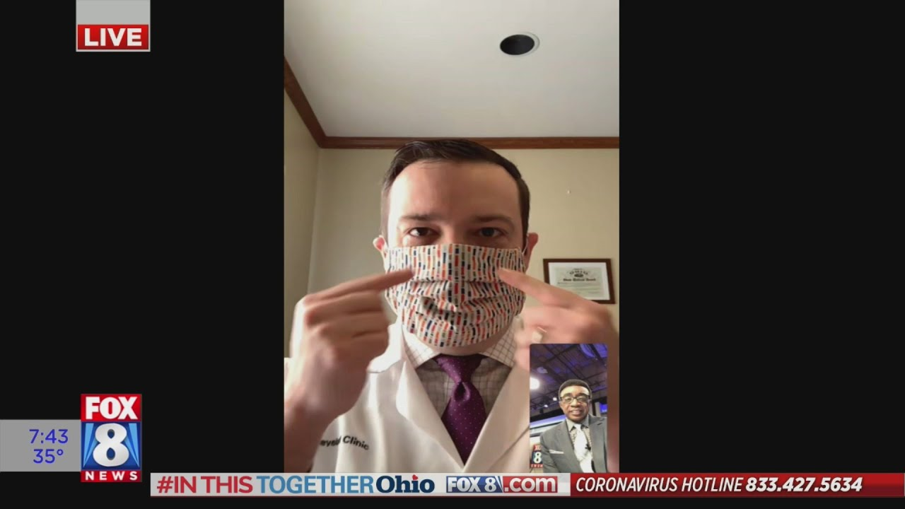 Local doctor explains the importance of face masks (and why gloves may do more harm than good)