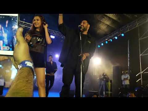 Badshah new song buzz |badshah , priyank sharma , aastha gill live perfomence in pune