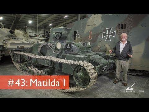 Tank Chats #43 Matilda I | The Tank Museum