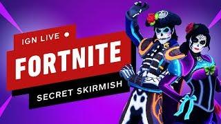 Fortnite Secret Skirmish (Day 2 - Solos) - IGN Live