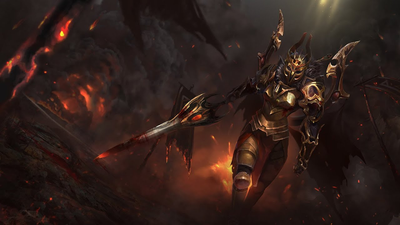 Daemonfell Flame Legion Commander Dota 2 Winter 2016