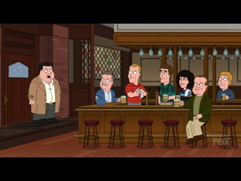 Cheers & Kirstie Alley - Family Guy spoof