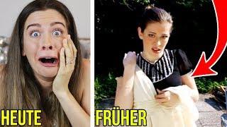 Früher vs. Heute: Meine PEINLICHEN 1. Teenager Videos