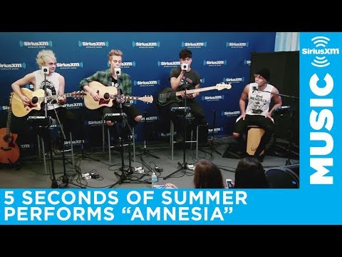 5 Seconds of Summer Amnesia  @ SiriusXM  Hits 1