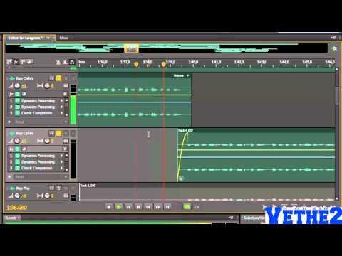 [Phần 3/5] Hướng dẫn mix nhạc với Adobe Audition CS6 - Mix bài 4U