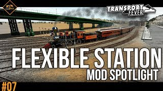 Flexible Train Stations mod spotlight | Transport Fever Metropolis #7