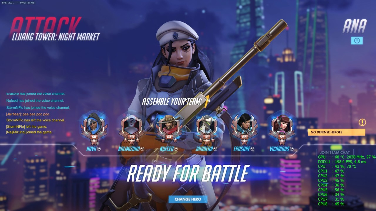 7700k FPS Drops Overwatch - CPUs, Motherboards, and Memory