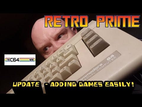 C64 Mini File Loader (Add More Games) by JMMREVIEW