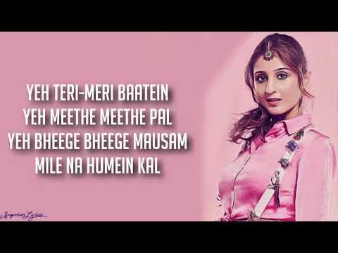 Leja Re - Dhvani Bhanushali (Lyrics) | Tanishk Bagchi | T-Series