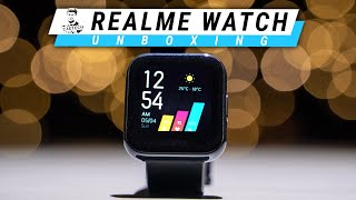 Realme Watch Unboxing & Review - Big Screen, Big Features, Budget Price!