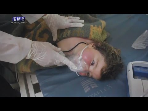 'Chemical attack' in Syria kills at least 58, including 11 children