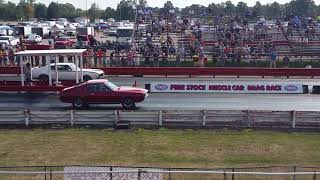 Pure Stock Drags 2017 Trevor and Rusty round 2