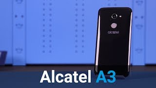 Alcatel A3 review
