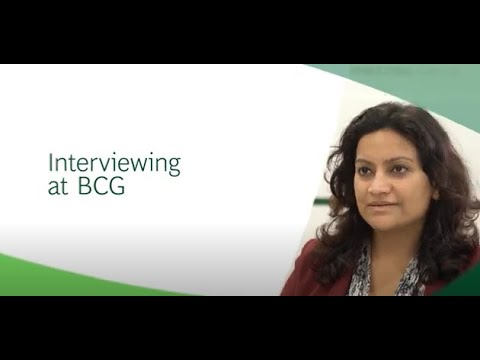 Interviewing at BCG