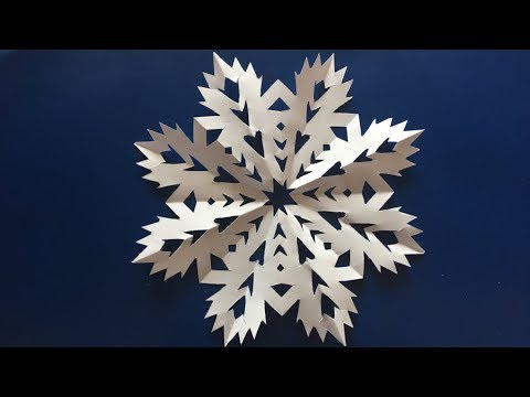 Making Snowflake from Paper
