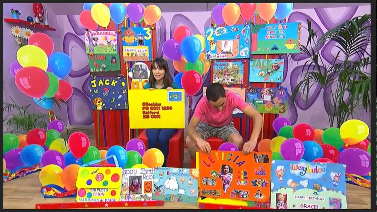 Cbeebies Birthday Cards 02 of August 2015 YouTube – How to Send Birthday Cards to Cbeebies