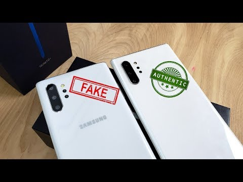 Goophone Note 10+ Clone/Fake [VS.] Samsung Galaxy Note 10+!