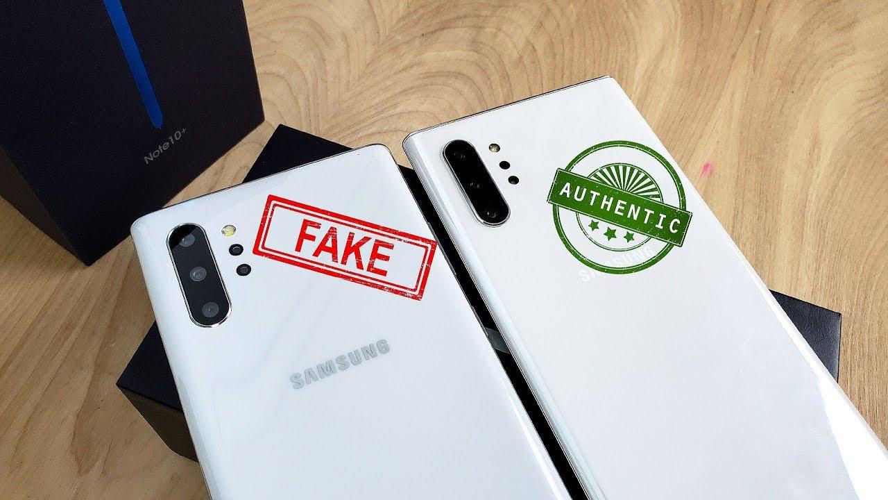 Goophone Note 10+ Clone/Fake [VS ] Samsung Galaxy Note 10+!