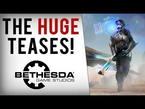 Bethesda's 2018 RPG Starfield - Huge Tease?! New Open World Game Leak & Big E3 2018 Reveals!