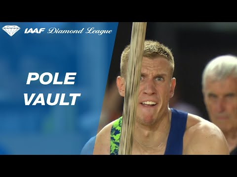 Piotr Lisek vaults over 6 meters for a meeting record in Monaco - IAAF Diamond League 2019