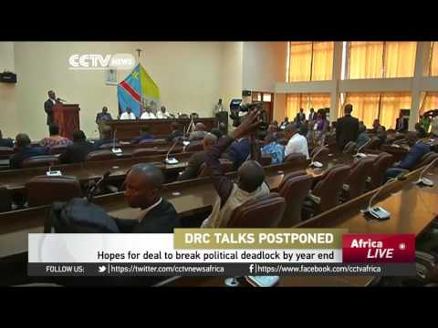 Talks to end DR Congo's political crisis postponed