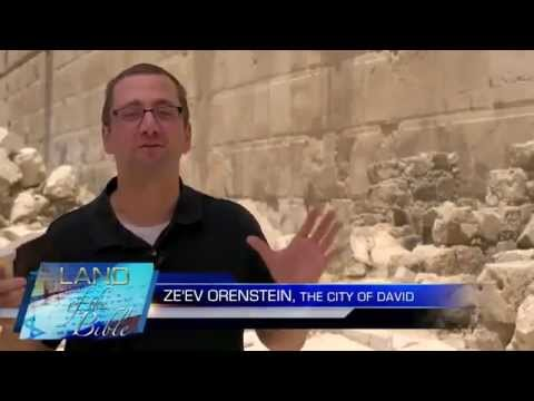 Land of the Bible - The Western Wall - Jerusalem