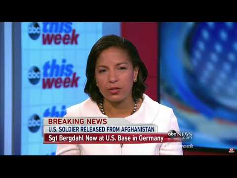 """Susan Rice: Bergdahl Served With """"Honor and Distinction"""""""
