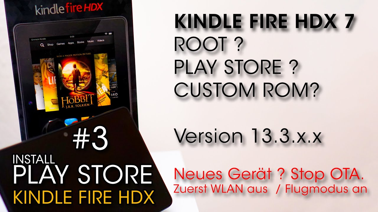 download google play store on kindle fire hdx