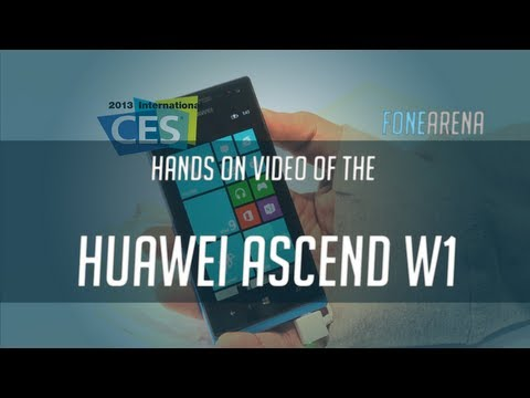 Huawei Ascend W1 Hands On